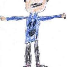 Papá Noel - Dibujar Dibujos - Dibujos de NIÑOS - Dibujo de los niños POR LA PAZ
