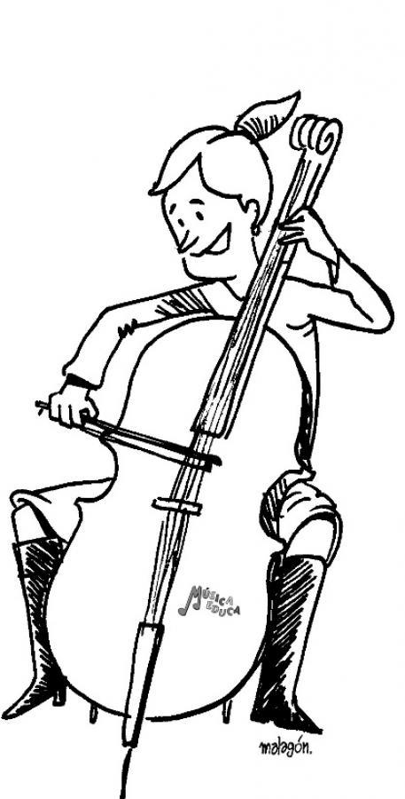 Instrumentos de percusion para colorear - Imagui